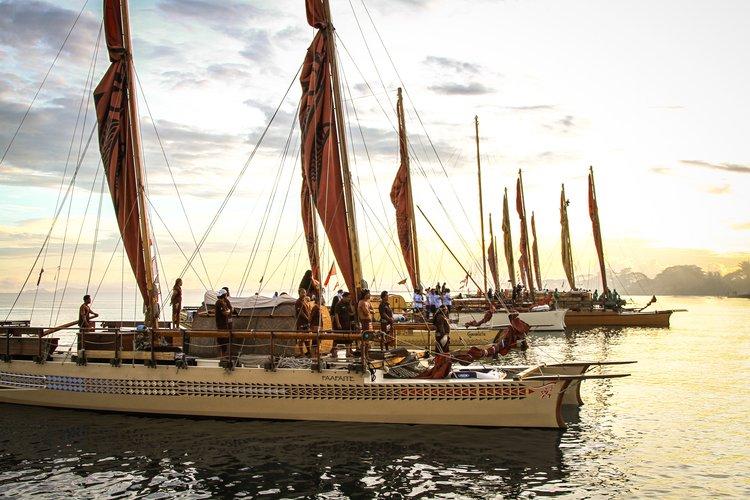 Te Mana o te Moana – The arrival of the waka fleet to the Festival of Pacific Arts, Solomon Islands_Rawhitiroaphotography.jpg
