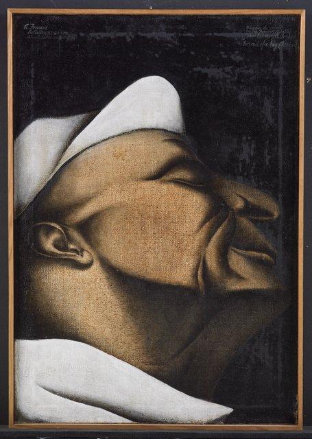 4. Tony Fomison, Portrait of a lag