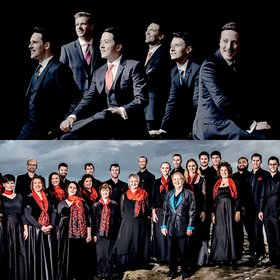 The King's Singers & Voices New Zealand chamber choir