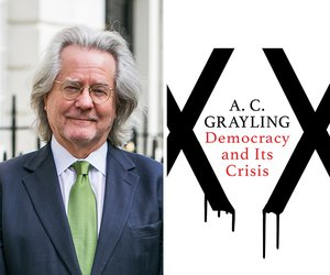 image of AC Grayling and his book Democracy in Crisis