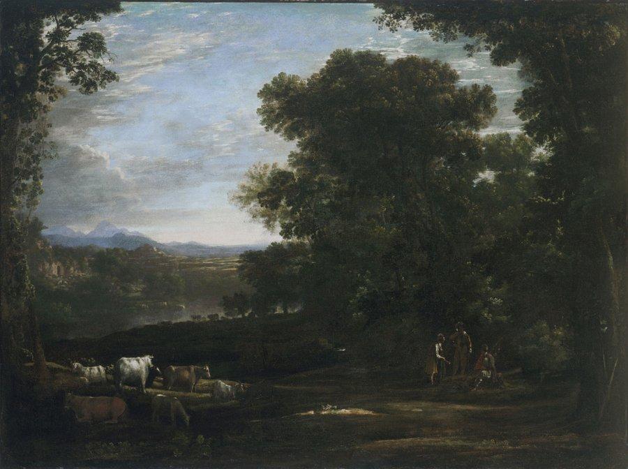 Claude Lorrain painting