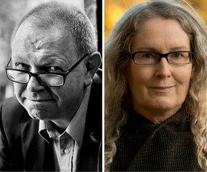 Francis Spufford and Elizabeth Knox talk about God W&R18 Francis © Bart Koetsier, Elizabeth © Grant Maiden 600x500.jpg