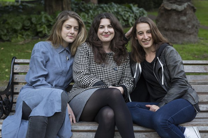 Karin, Eleanor and Julia
