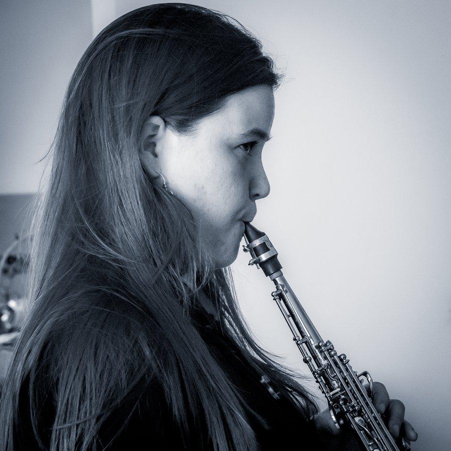 Lex French & Jasmine Lovell-Smith at Wellington Jazz Festival