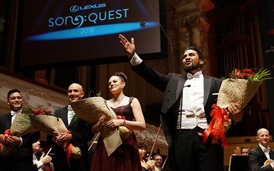 Lexus Song Quest prizegiving
