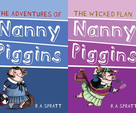 The Adventures of Nanny Piggins: Writing Comedy Workshop with RA Spratt