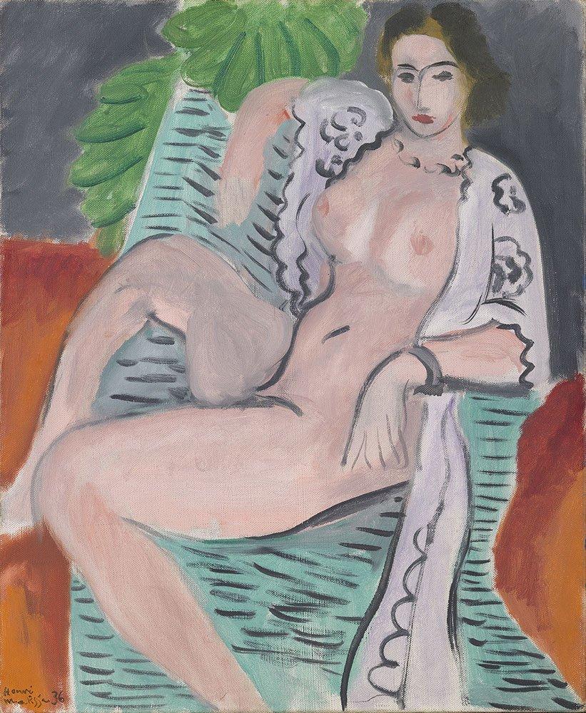 Henri Matisse nude