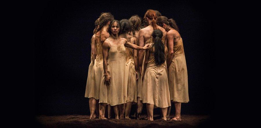 Pina Baush Tanztheater Wuppertal –Rite of Spring
